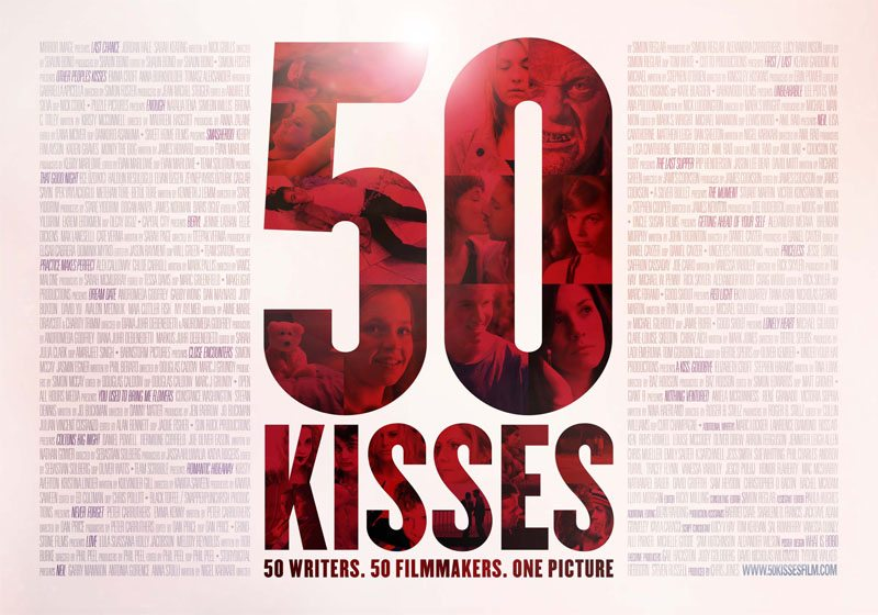 50 Kisses Poster SMALL