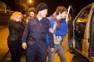 Ross Aitken - Kidnap Me - co-wri-dir Ross Aitken standing in as a kidnapper