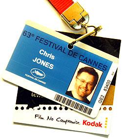 festival de cannes badge